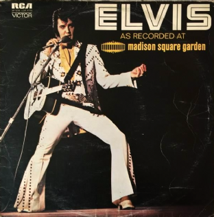 Elvis Presley - Elvis: As Recorded At Madison Square Garden (LP) (G++/G-)